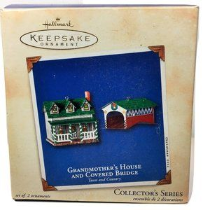 Hallmark Ornament Grandmother's House & Bridge